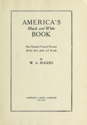 "Cover of ""America's black and white book"""