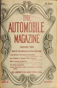 "Cover of ""The Automobile magazine"""