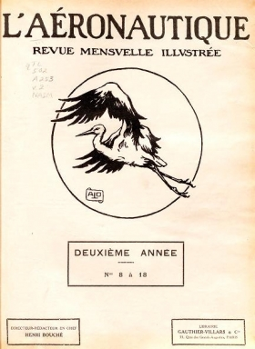 Cover of L'Aʹeronautique