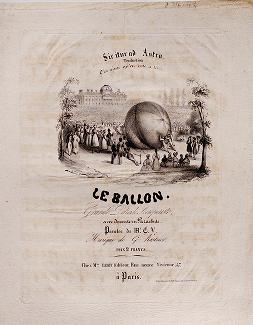"""Cover of """"Le ballon"""""""