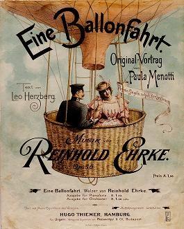 """Cover of """"Eine Ballonfahrt"""""""