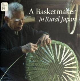 "Cover of ""A Basketmaker in rural Japan"""