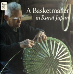 "Cover of ""A Basketmaker in rural Japan"""