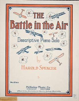 "Cover of ""The battle in the air"""