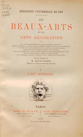 Cover of Les beaux-arts del£oratifs