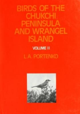 Cover of Birds of the Chukchi Peninsula and Wrangel Island