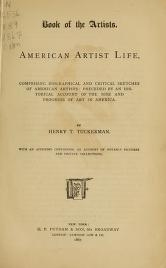 """Cover of """"Book of the artists"""""""