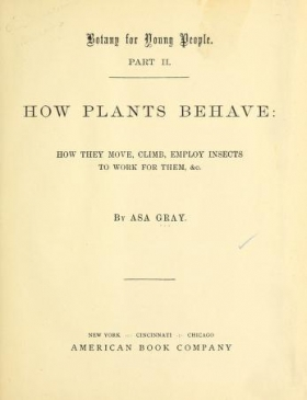 "Cover of ""Botany for young people"""