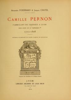 "Cover of ""Camille Pernon"""