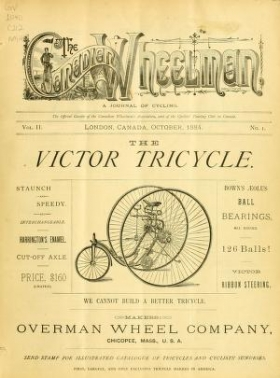 "Cover of ""Canadian wheelman"""