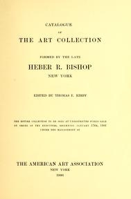 """Cover of """"Catalogue of the art collection"""""""