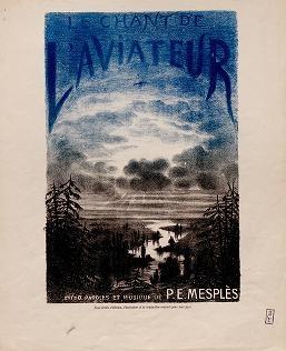 """Cover of """"Le chant de l'aviateur"""""""