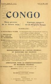 essay on the superstitions customs and arts common to the cover of congo