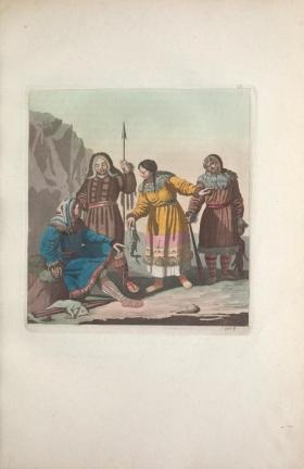 """Illustration from """"Le Costume ancien et moderne"""" Asie v. 4"""