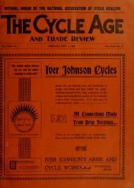 "Cover of ""The Cycle age and trade review"""