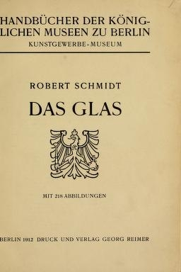 "Cover of ""Das Glas"""