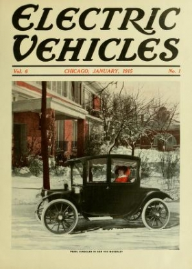 "Cover of ""Electric vehicles"""