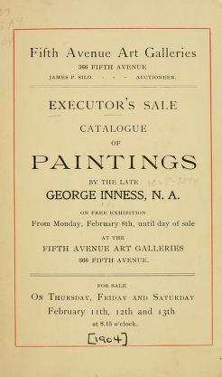 "Cover of ""Executor's sale"""