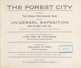 "Cover of ""The Forest city"""