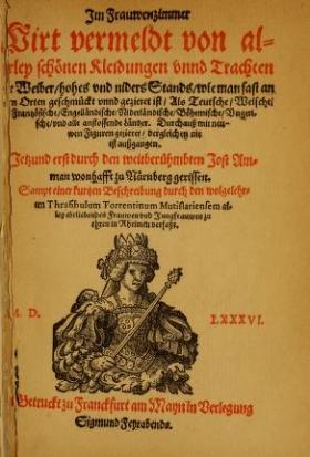 """Cover of """"Frauen-Trachtenbuch"""""""