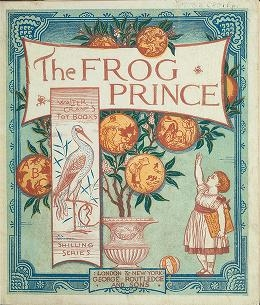 """Cover of """"The frog prince"""""""