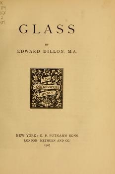 """Cover of """"Glass"""""""