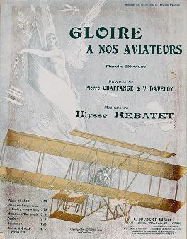 "Cover of ""Gloire a nos aviateurs"""