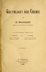 "Cover of ""Grundlagen der Chemie /"""
