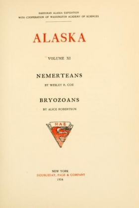 "Cover of ""Harriman Alaska series"""