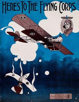 "Cover of ""Here's to the flying corps"""