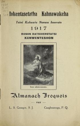 Cover of Iakentasetatha kahnawakeha =