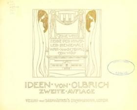 """Cover of """"Ideen von Olbrich"""""""