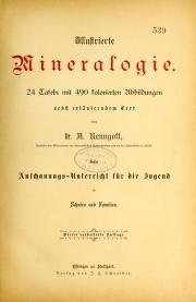 """Cover of """"Illustrierte Mineralogie"""""""