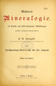 "Cover of ""Illustrierte Mineralogie"""