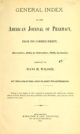 "Cover of ""Journal of the Philadelphia College of Pharmacy"""
