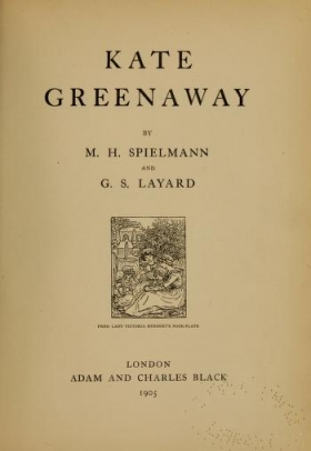"Cover of ""Kate Greenaway /"""