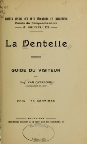 "Cover of ""La dentelle"""