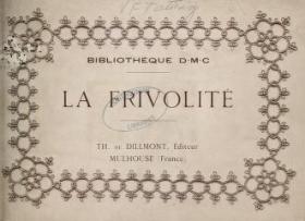 "Cover of ""La Frivolité"""