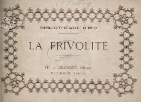 "Cover of ""La Frivolité"""