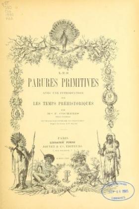 """Cover of """"Les parures primitives"""""""