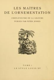 "Cover of ""Le style Louis XV"""