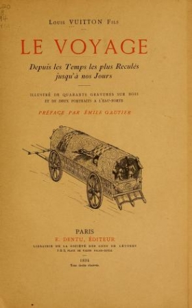 Cover of Le voyage