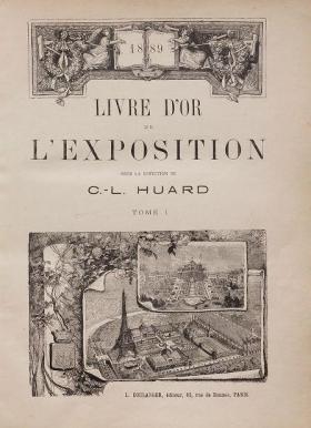 Cover of Livre d'or de l'Exposition