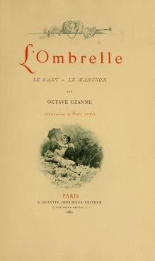 """Cover of """"L'ombrelle--le gant--le manchon"""""""