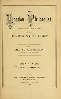 Cover of The London philatelist