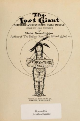 "Cover of ""The lost giant"""
