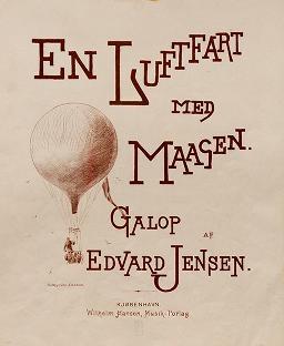 """Cover of """"En luftfart med Maagen"""""""