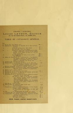 "Cover of ""L'Œuvre de Ernest Barrias /"""