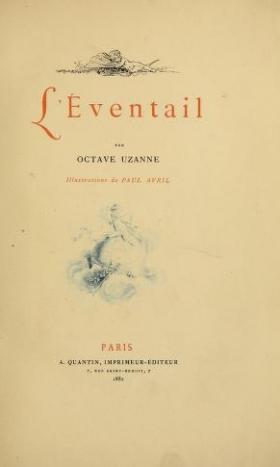 "Cover of ""L'éventail"""