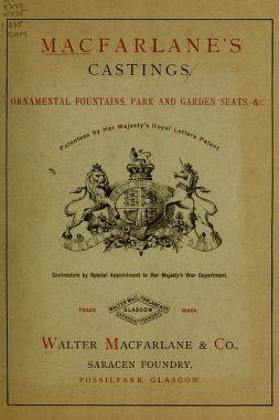 "Cover of ""Macfarlane's castings"""